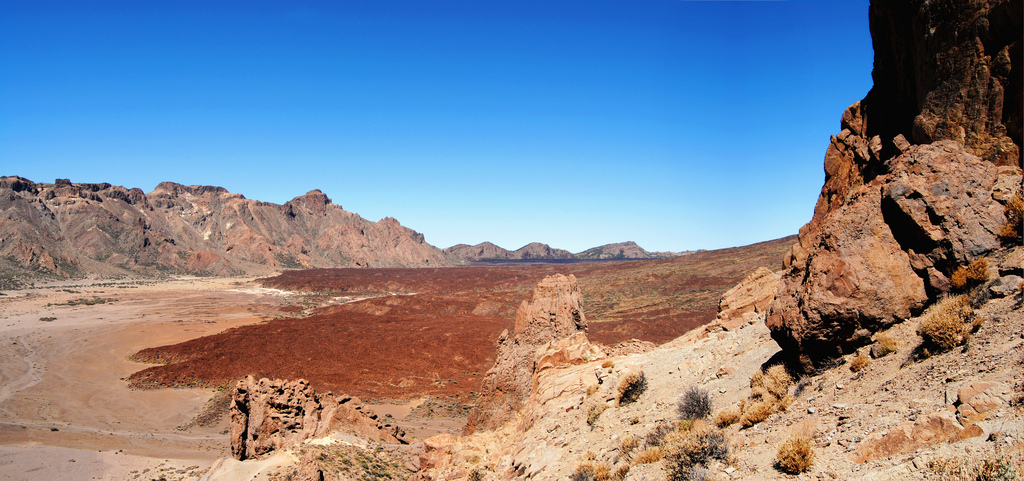 Where they test space robots: Llano de Ucanca, Teide National Park (Tenerife).