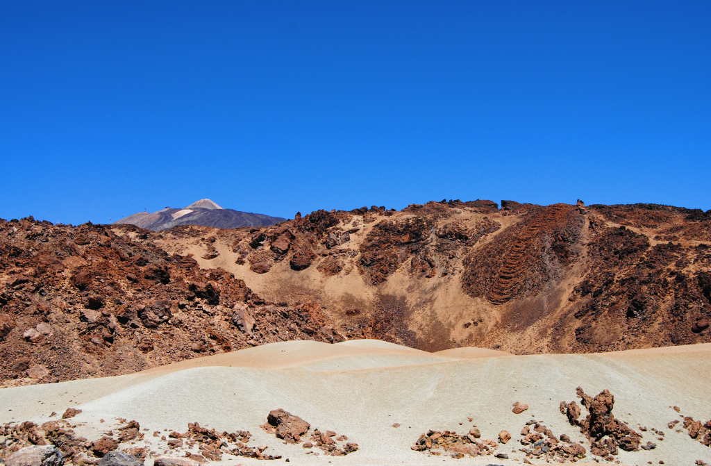 Teide National Park, where they test space robots.