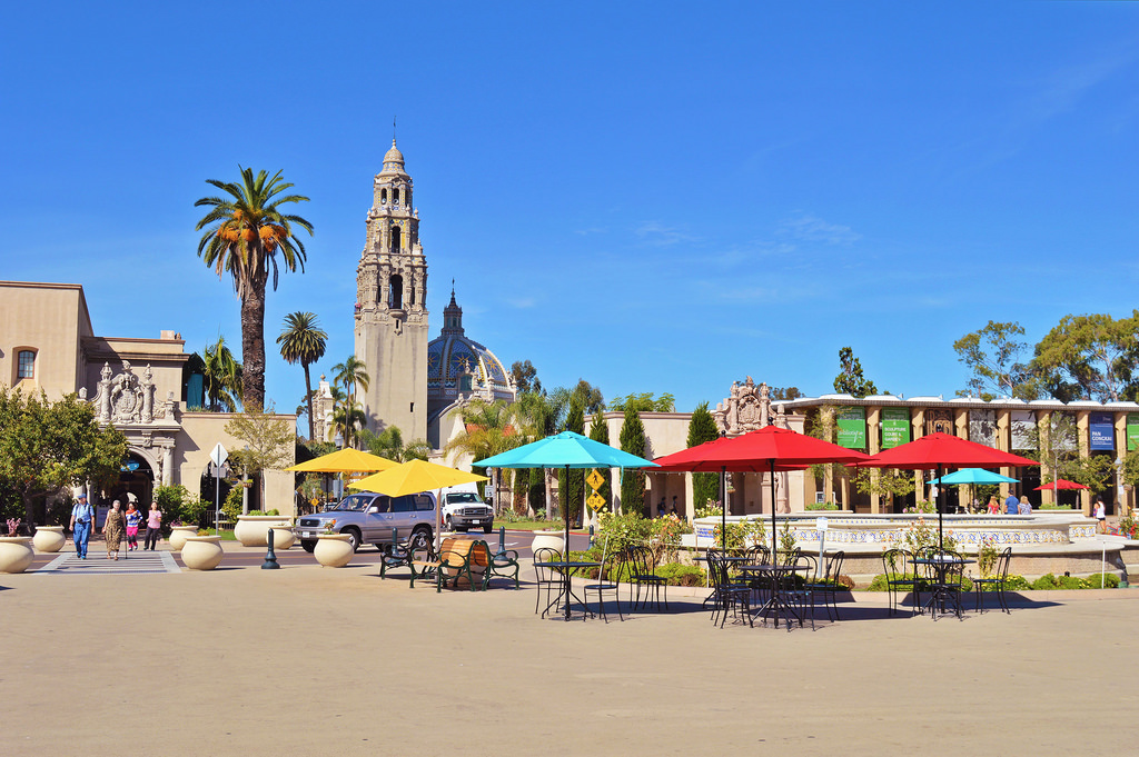 Balboa Park, San Diego (California).