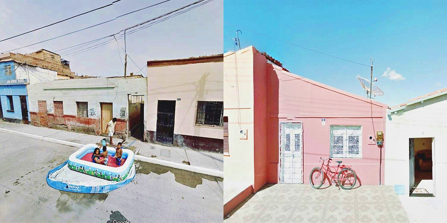 Agoraphobic Traveller Explores the World via Google Street View