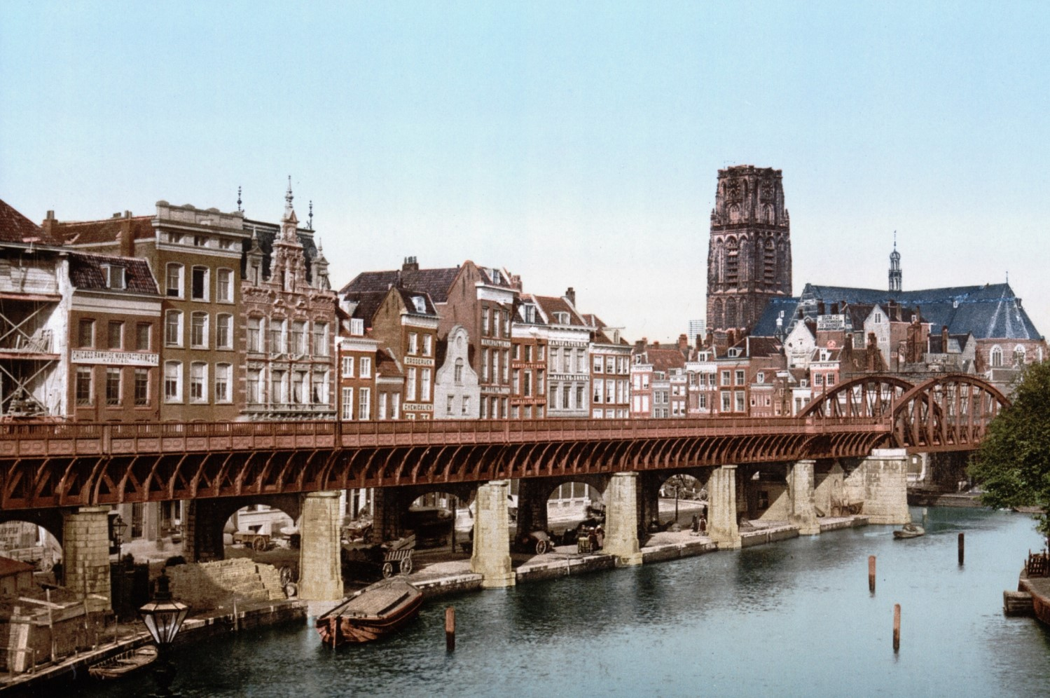 What Rotterdam Looked Like Before the Bombing