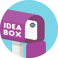 Send in your idea to the idea box and we'll try to make it happen!