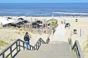Kijkduin Beach near The Hague