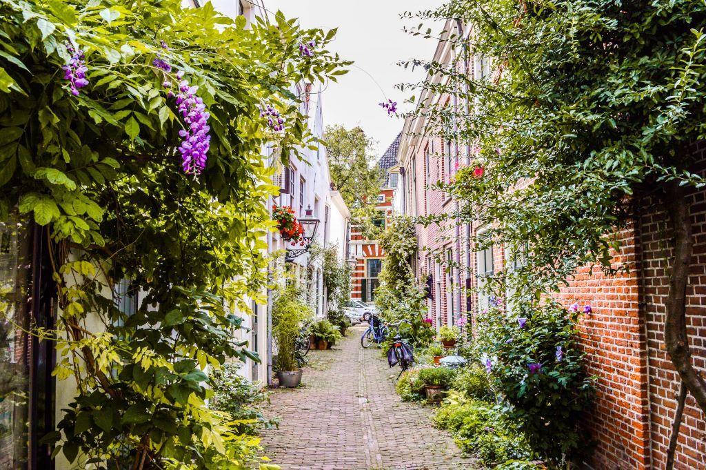 A lovely little alley in Leiden.