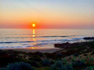 Beach sunset in Perth