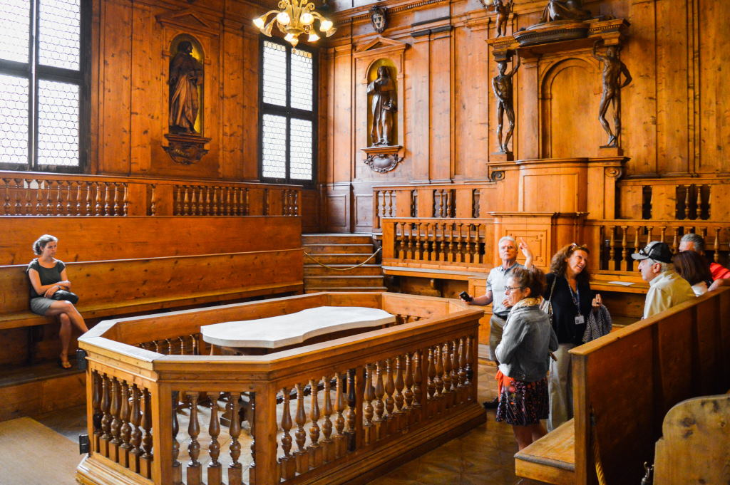 Oldest anatomical theatre in Bologna