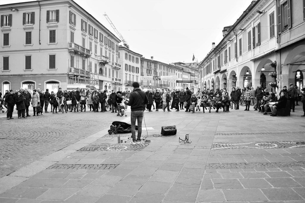 Interview with a street musician