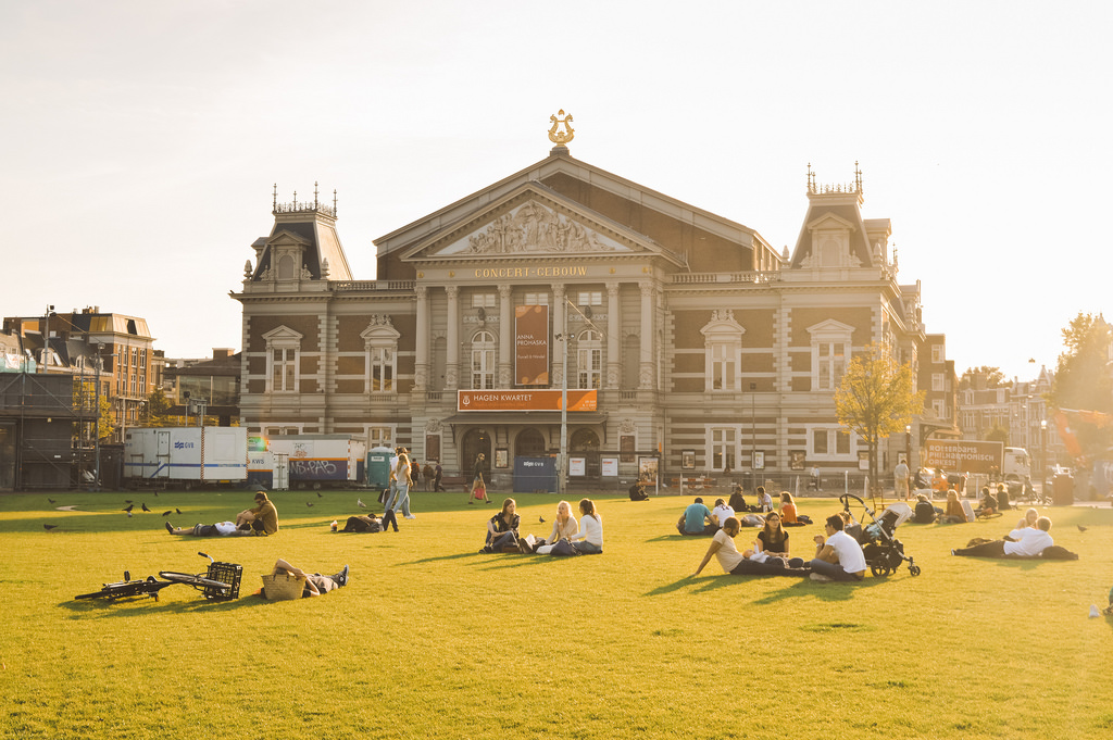 Museumplein in Summer