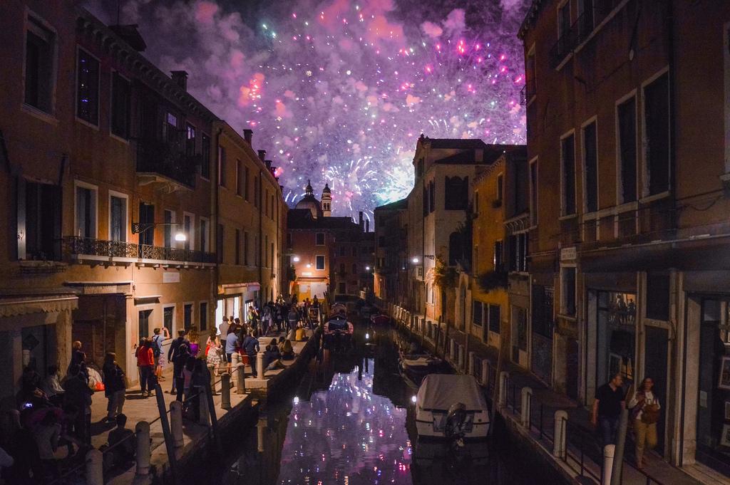 Venice on the night of the Festa del Redentore