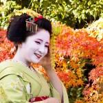 Maiko (apprentice Geisha) from Kyoto.
