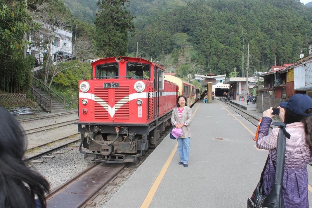 Mountain train in Taiwan
