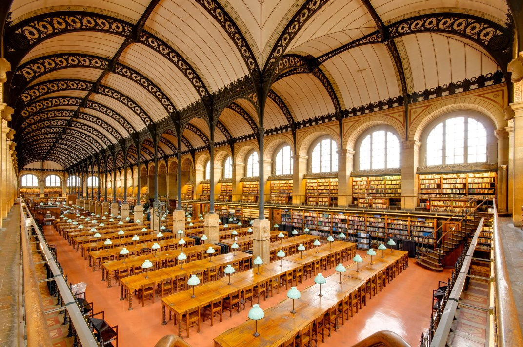 Sainte-Geneviève Library in Paris