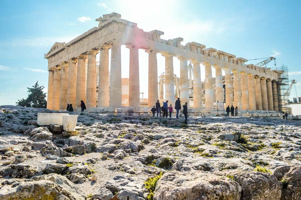 ottoman harems and psychic snakes 5 facts about the acropolis