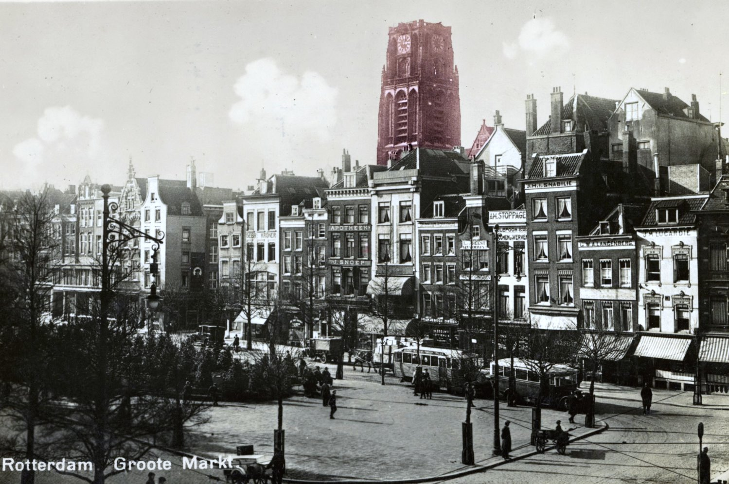 Rotterdam before the war
