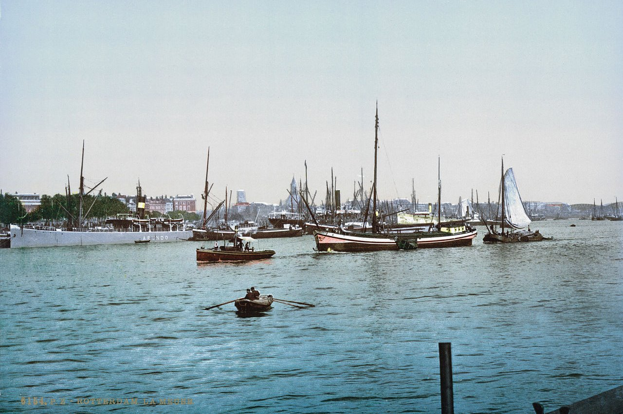 Rotterdam before World War II