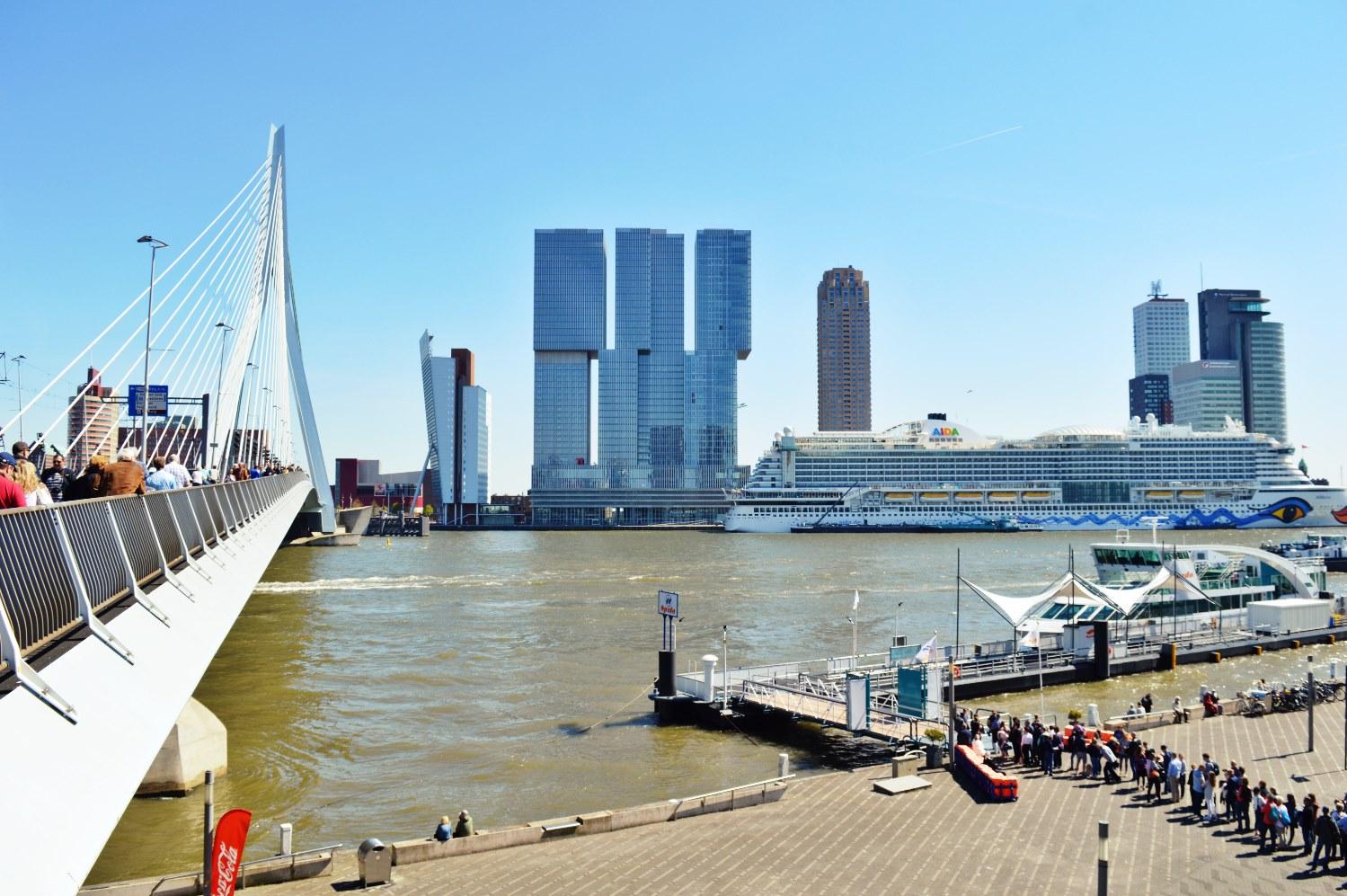 The Rotterdam Harbor
