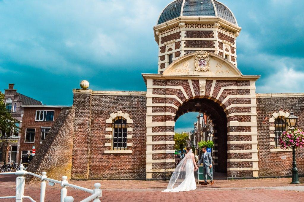The historic Morspoort in Leiden.