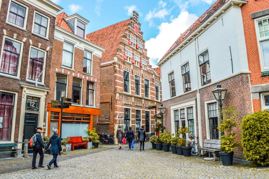 The historic heart of the city of Leiden