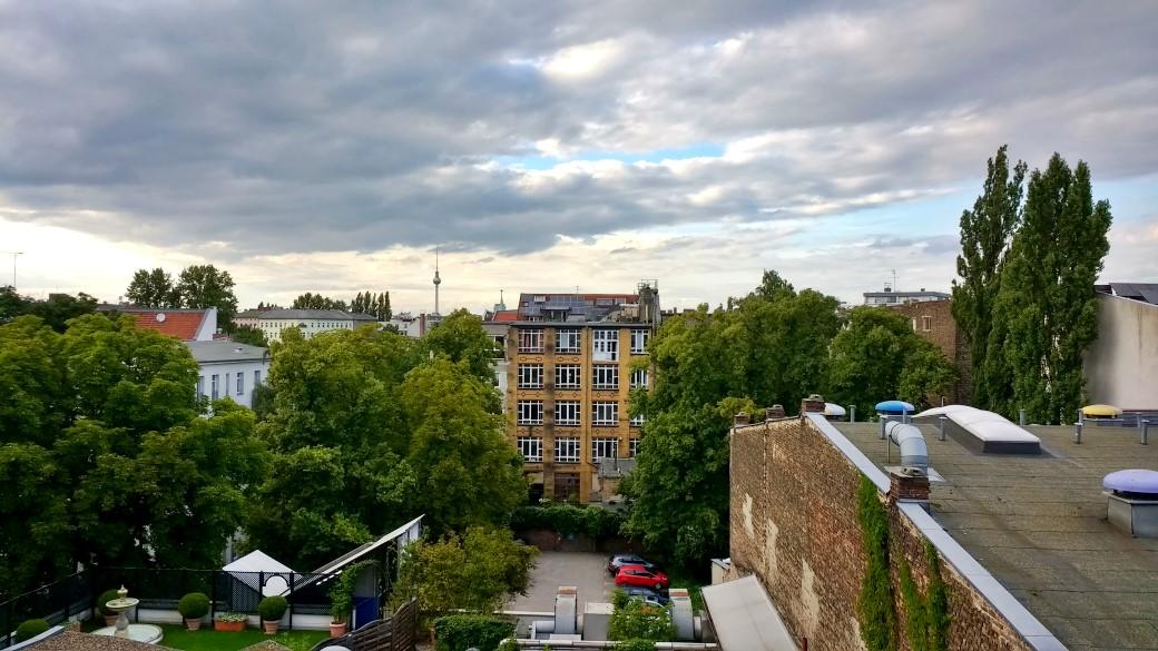 View from Hermannplatz