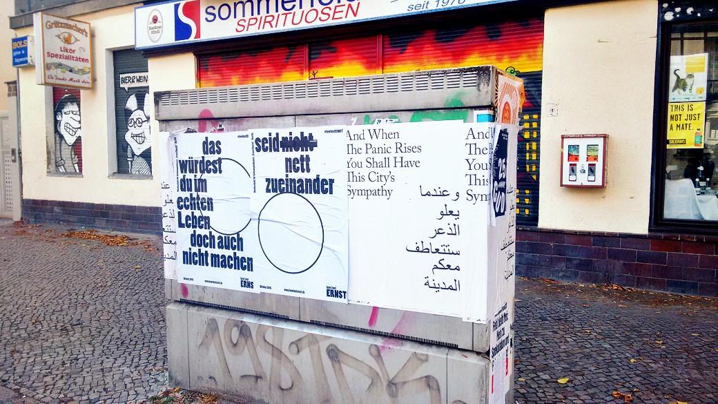 Posters in Neukölln