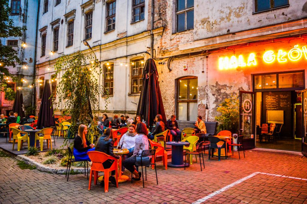 Night life in Krakow