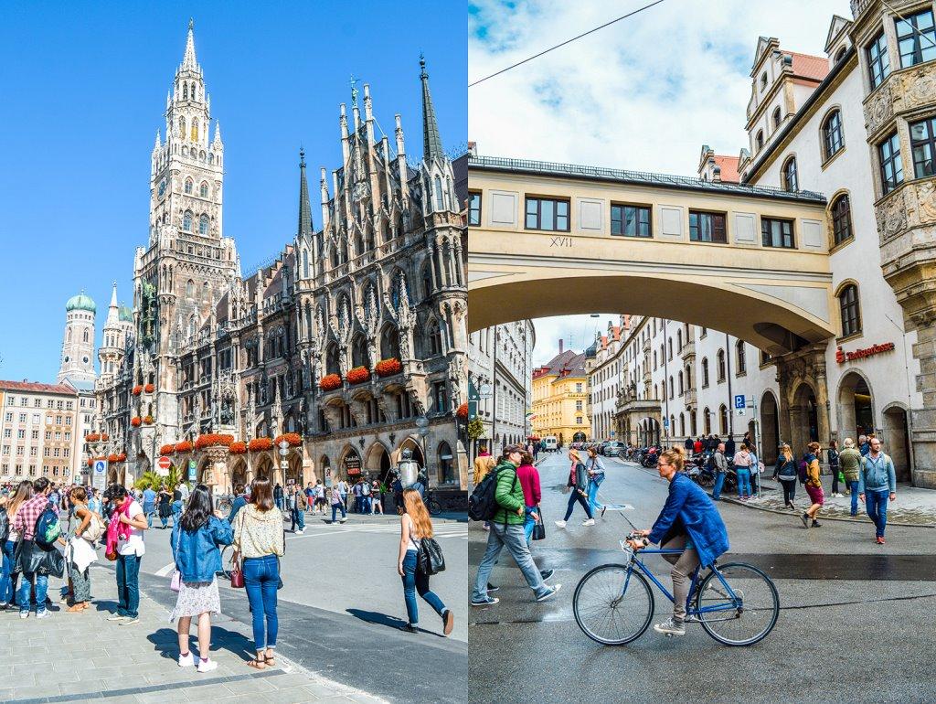 Street shots of Munich