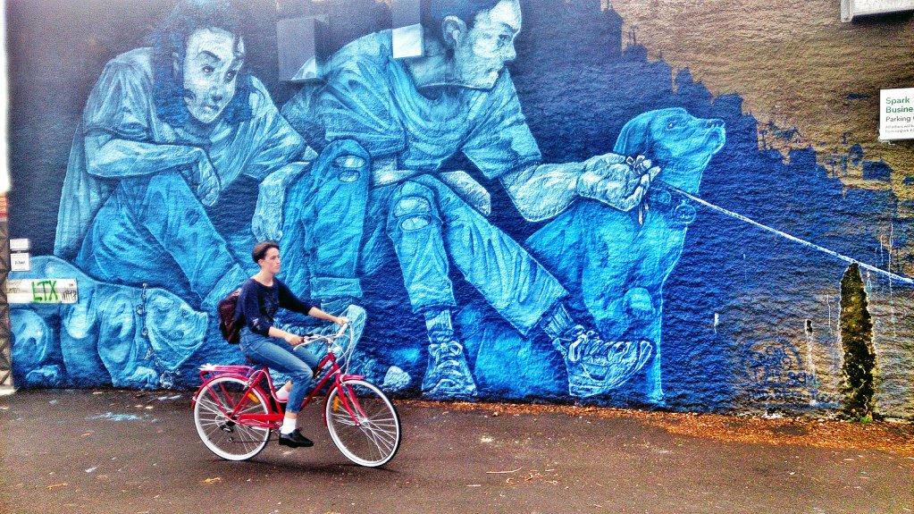 Street art in Auckland