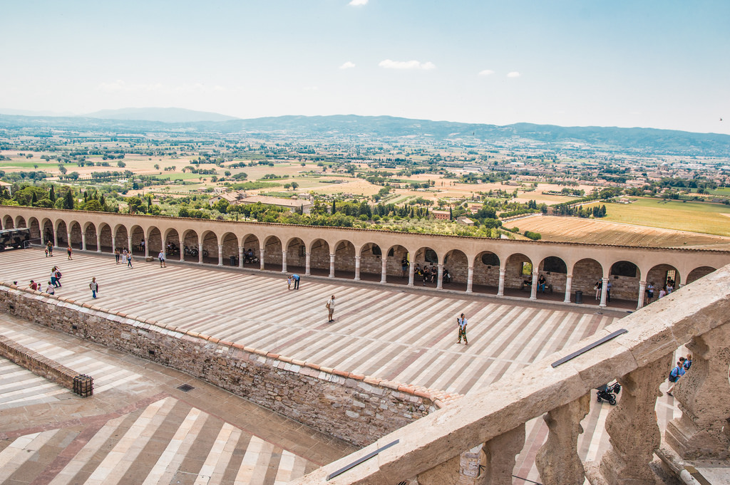 Assisi is a medieval town that still attracts pilgrims from all over the world