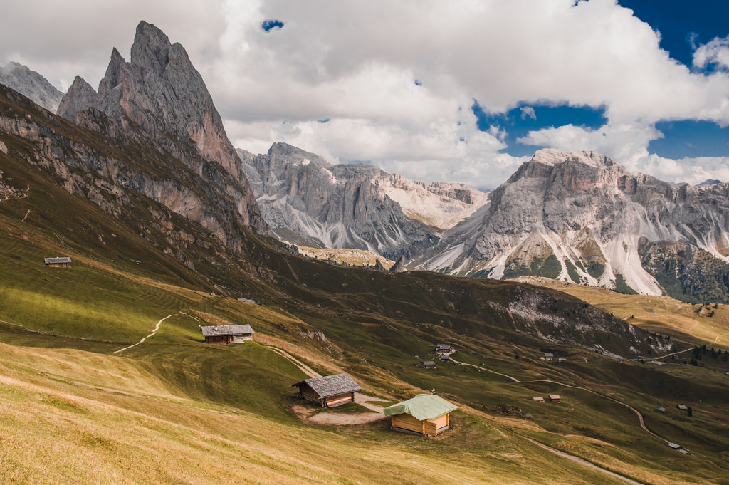 The legends and myths from the Dolomites were largely inspired by the mountains