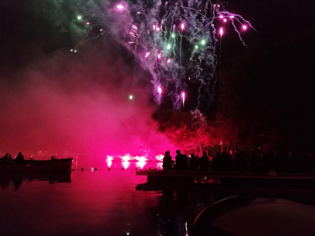 Vuurwerk in Leiden, Leids Ontzet (Fireworks in Leiden)